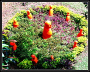 Landscapes Sculptures - My Garden Decoration-2 by Anand Swaroop Manchiraju