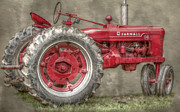Farmall Red Posters - My Grandfathers Tractor Poster by Randy Steele