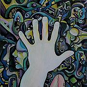 Palmistry Art - My Hand - 2009 by Alex Arshansky