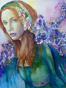 My Heart Has A Secret Garden Print by P Maure Bausch