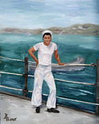 Korean War Paintings - My Hero The Sailor   by Brenda Thour