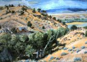 Wyoming Paintings - My Home by Dawn Senior-Trask