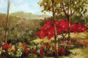 Puerto Rico Paintings - My House Over Yonder by Monica Linville