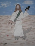 My Jesus Print by Gregory Davis