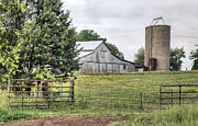 Fauquier County Prints - My Kind of Gated Community  Print by JC Findley