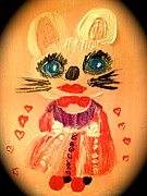 Hello Kitty Paintings - My kitty lover... by Pretchill Smith