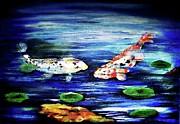 Xafira Mendonsa - My Koi Pond