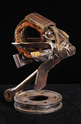 Surrealism Sculpture Originals - My Left Eye by Eddie Sparr