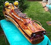 Still Life Sculptures - My Life A Croc Of by Robert Chine Thomas