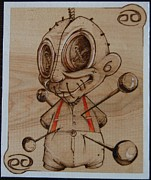 On Wood Pyrography Pyrography - My life by Marlon Ivory