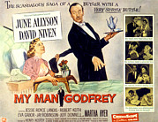 1957 Movies Photos - My Man Godfrey, June Allyson, David by Everett