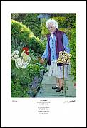 Peter Mark Butler - My Mother - Giclee Print