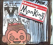 Street Art Prints - My Name Is MonKing Print by Robert Wolverton Jr