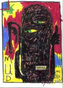 Neo Expressionism Art - My Name Is Mud by Robert Wolverton Jr