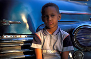 African Child Originals - My old Chevy by Chlaus Loetscher