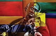 African-american Painting Posters - My Old Friend Poster by Stacy V McClain