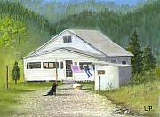 Kentucky Pastels - My Old Kentucky Home by Linda Preece
