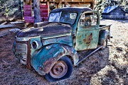 Tires Framed Prints - My old truck Framed Print by Garry Gay