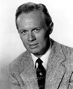 1950s Portraits Posters - My Pal Gus, Richard Widmark, 1952 Poster by Everett