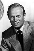 1950s Portraits Posters - My Pal Gus, Richard Widmark Poster by Everett