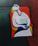 My Picasso Le Reve Print by Kumi Rajagopal