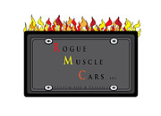 Rogue Prints - My Rogue Muscle Car Logo Print by Teri Schuster