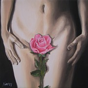 Jindra Noewi Art - My Rose by Jindra Noewi
