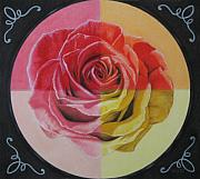 Flower Pastels - My Rose by Lynet McDonald