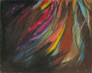 Abstracts Pastels - My Soul on Fire by Ania M Milo