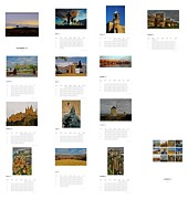 Peniscola Framed Prints - My Spain ... - Calendar 2012 Framed Print by Juergen Weiss