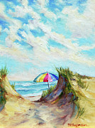 Cape Cod Paintings - My Summer Hideaway by Barbara Hageman