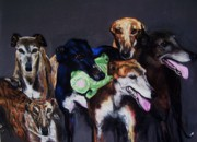Canine Art Prints - My teachers Print by Frances Marino