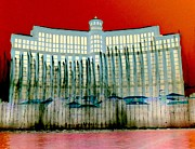 The Strip Framed Prints - My Vegas Bellagio 1 Framed Print by Randall Weidner