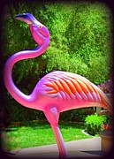 Flamingos Art - My Vegas Flamingo 4 by Randall Weidner