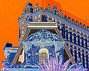Paris Digital Art - My Vegas Paris 1 by Randall Weidner