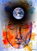 Nature Divine Mixed Media Posters - My World Poster by Paulo Zerbato
