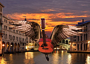 Flying Guitars - My Worlds Acoustic by Eric Kempson
