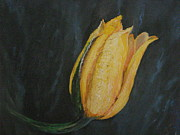 Last Paintings - My Yellow Flower by Mario  Feijoca