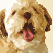 Love The Animal Posters - MyDog01B Poster by Eakaluk Pataratrivijit