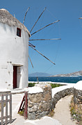 Typical Framed Prints - Mykonos Framed Print by Laura Melis