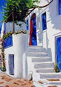 Featured Art - Mykonos by Lesuisse Viviane