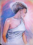 Angelic Pastels Prints - Myra My Love Print by Scott Easom