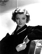 Myrna Photos - Myrna Loy, Mgm, 7236 by Everett