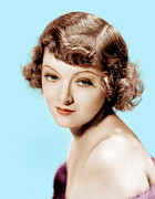 Bangs Photos - Myrna Loy, Mgm Portrait, 1930s by Everett