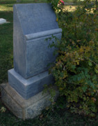 Headstone Photos - Myrtle at Rest by Peter Piatt
