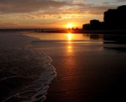 Myrtle Beach Sunset Print by Patricia L Davidson