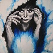 Mysterious Print by Jindra Noewi