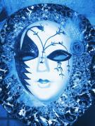 Mysterious Mask Print by Anne-Elizabeth Whiteway