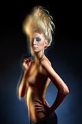Mysterious Nude Print by Pavlo Kolotenko