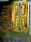 Makarand Purohit Art - Mysterious Window by Makarand Purohit